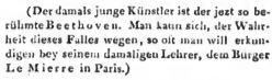 Allgemeine - Beethoven