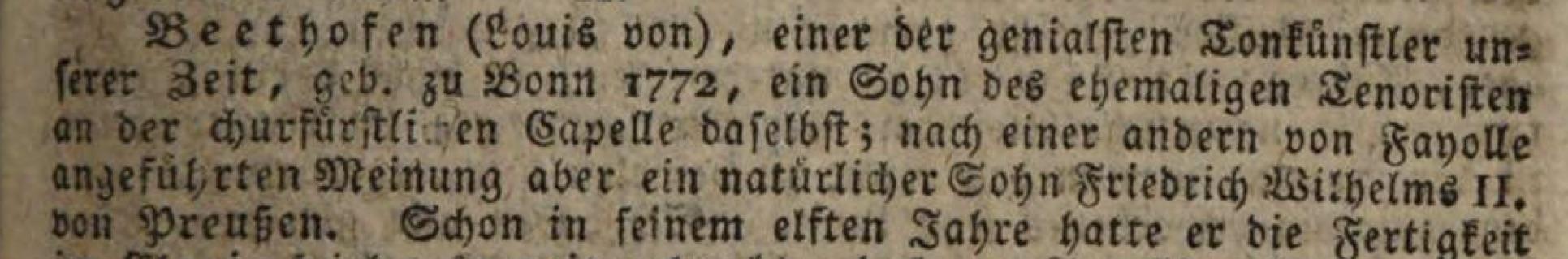 Beethoven - FW II - Sohn